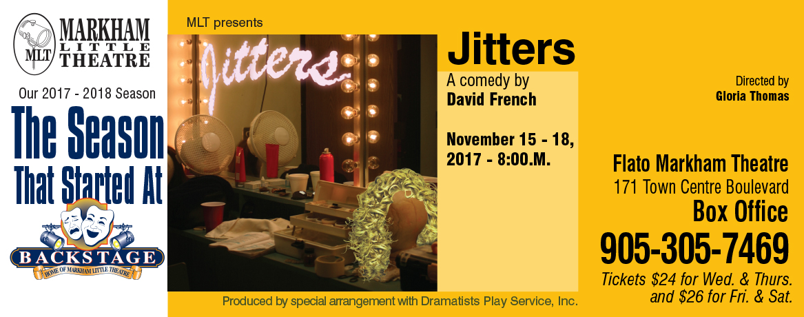 Our next play is Jitters!